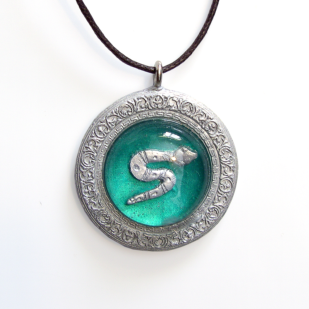 Nagini Slytherin Snake Necklace